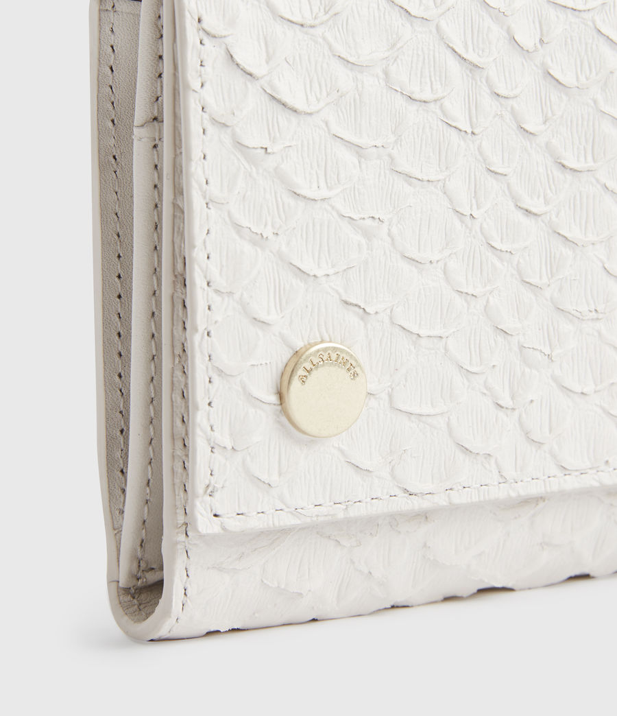 Women's Holland Leather Wallet (roe_white) - Image 4