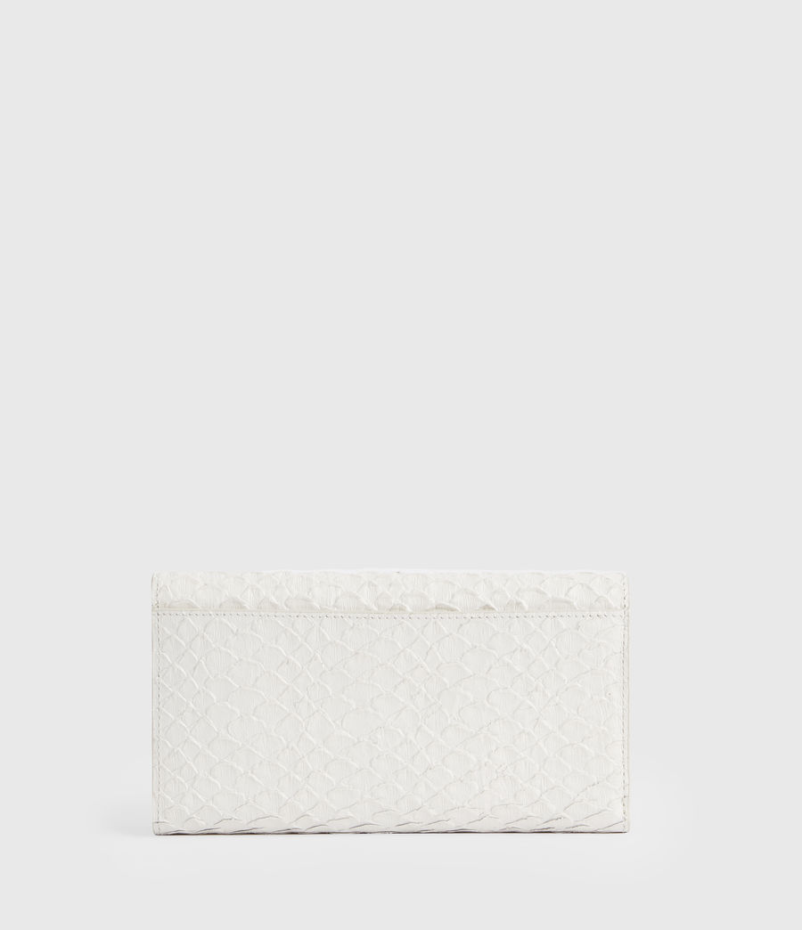 Women's Holland Leather Wallet (roe_white) - Image 6