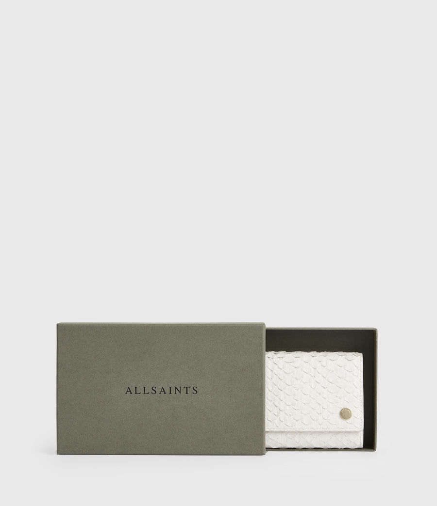Women's Holland Leather Wallet (roe_white) - Image 7