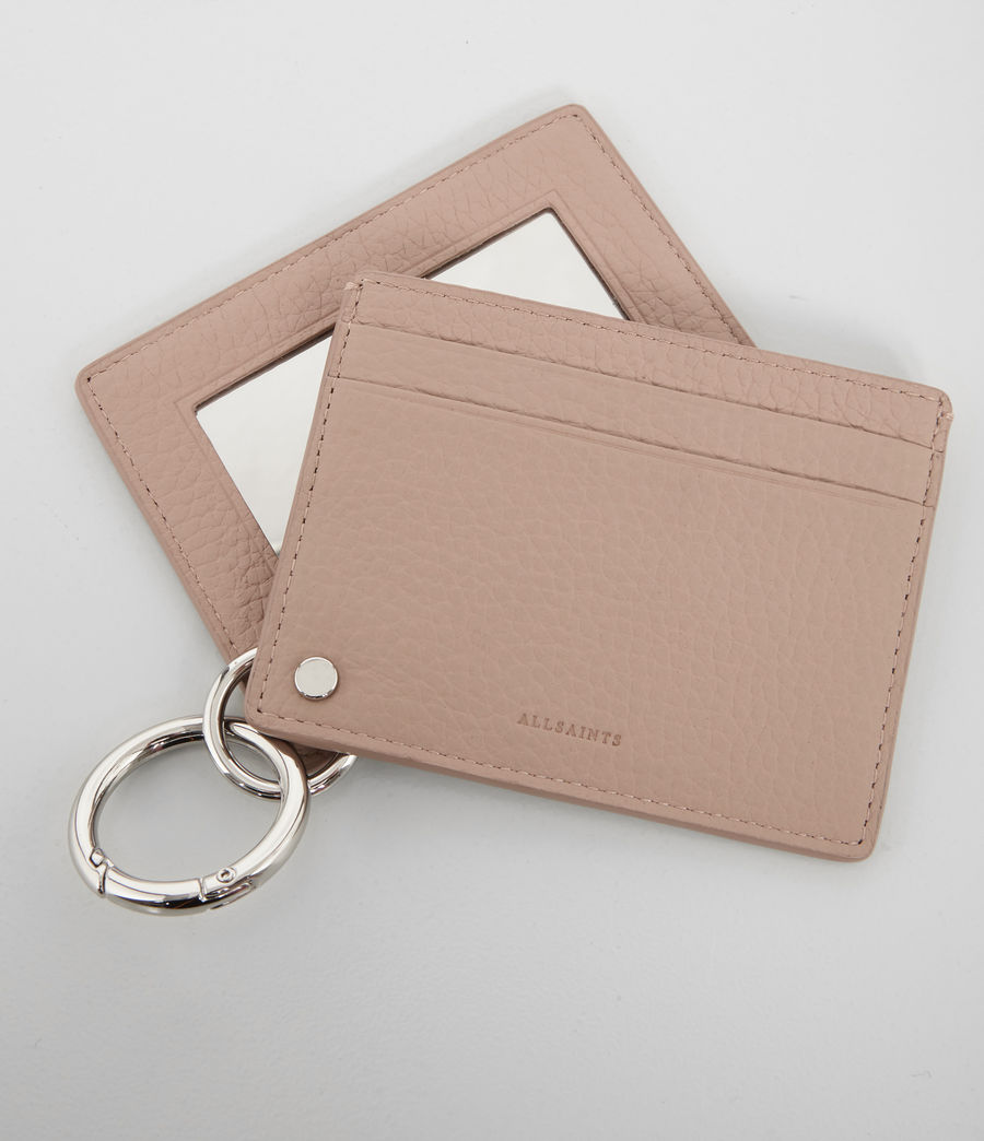 Women's Fetch Mirror Card Holder (blush_pink) - Image 2
