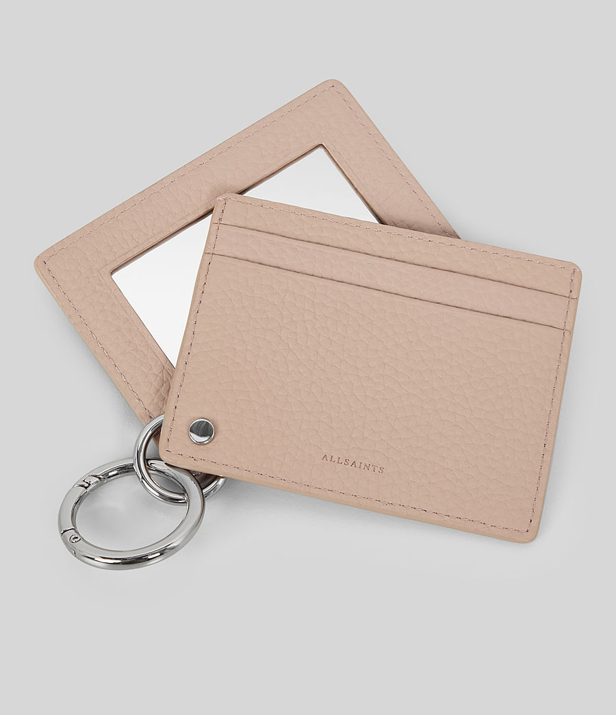 Womens Fetch Mirror Cardholder (natural) - Image 2