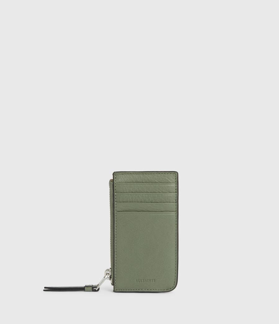 Women's Marlborough Leather Wallet (sage_green) - Image 1