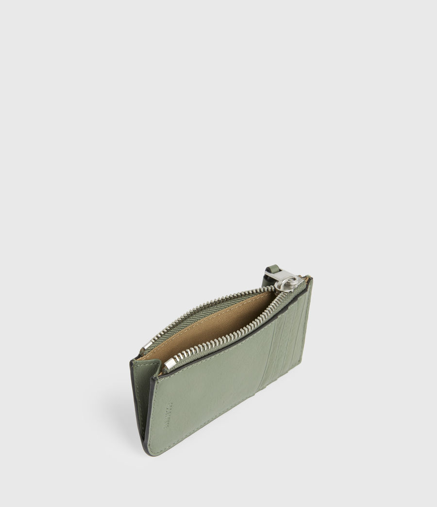 Women's Marlborough Leather Wallet (sage_green) - Image 2