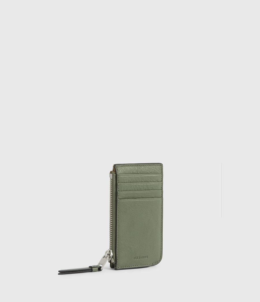 Women's Marlborough Leather Wallet (sage_green) - Image 3