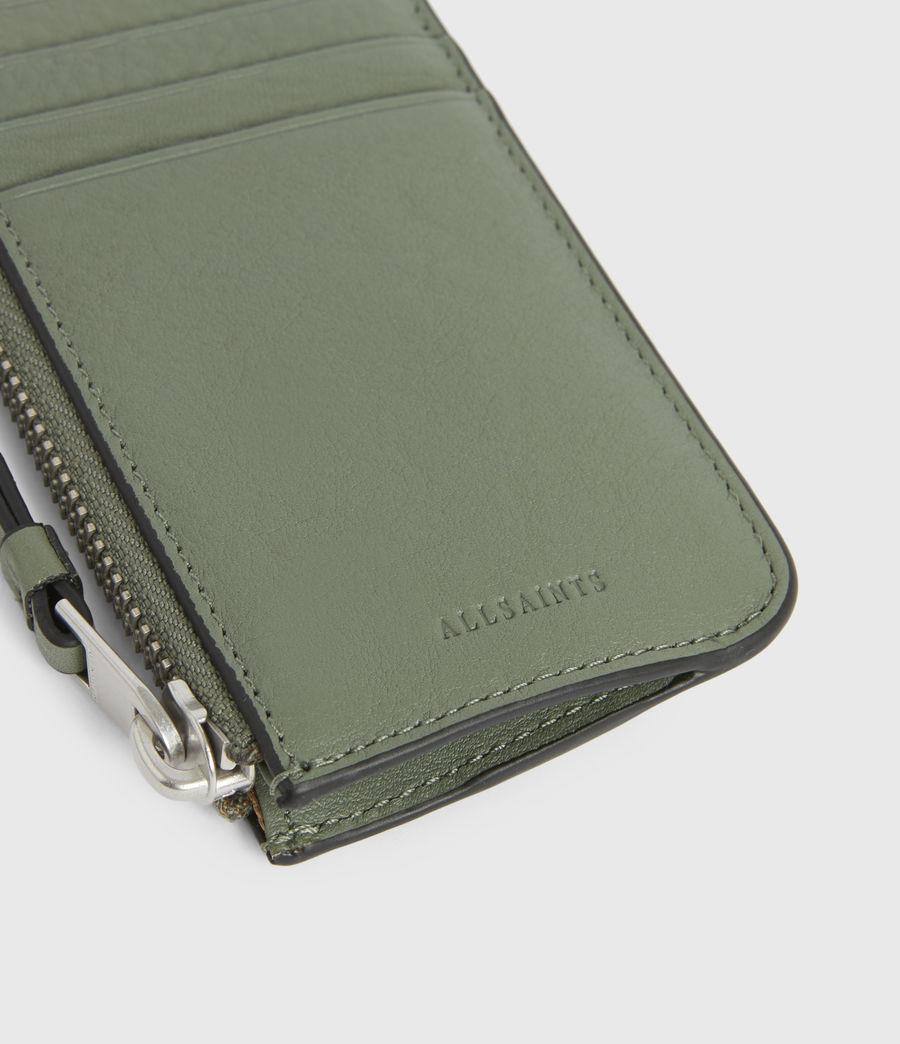 Women's Marlborough Leather Wallet (sage_green) - Image 4