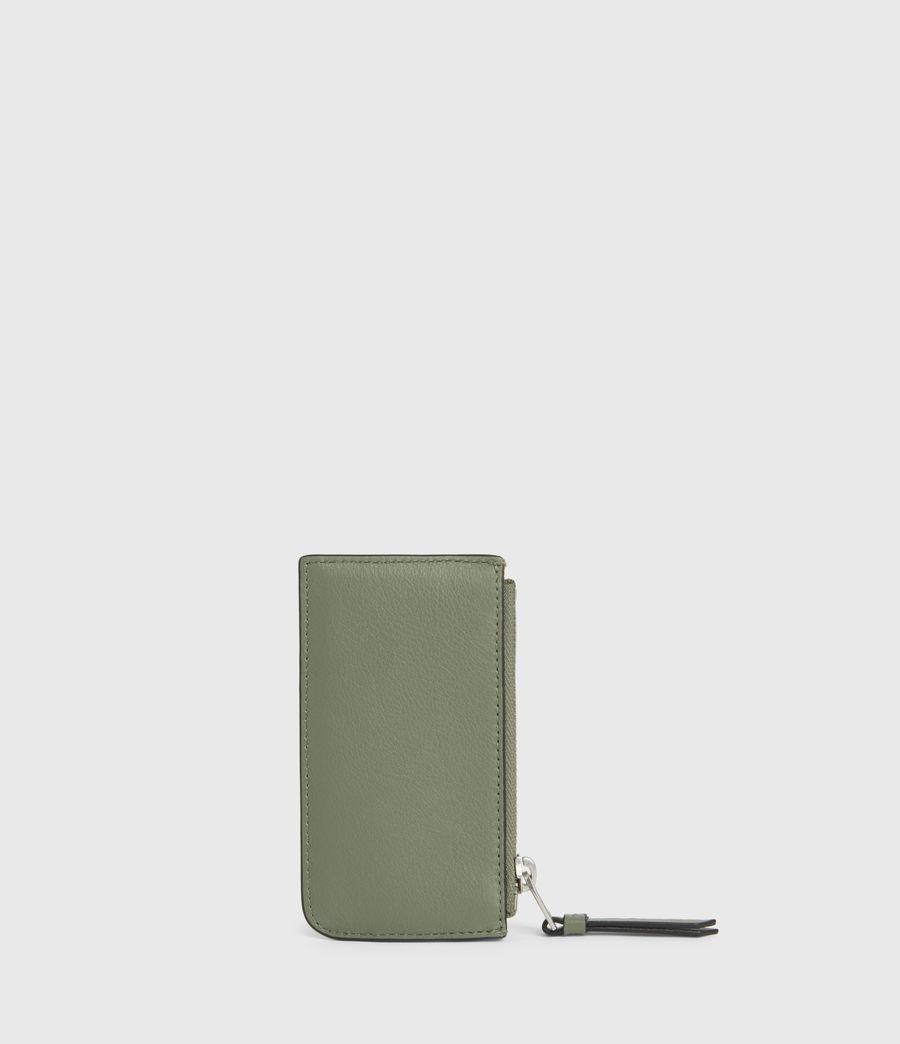 Women's Marlborough Leather Wallet (sage_green) - Image 5