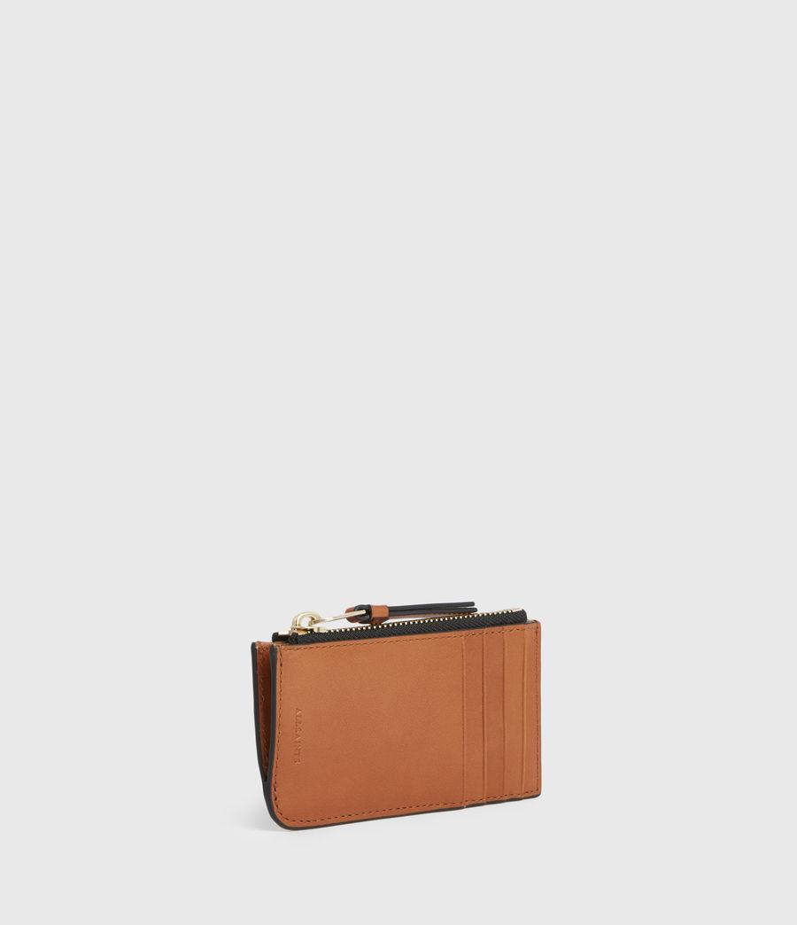 Women's Marlborough Leather Wallet (brandy) - Image 3
