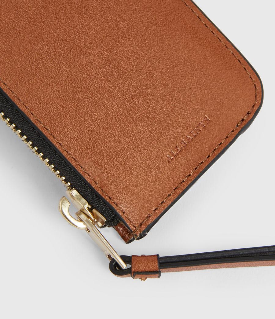 Women's Marlborough Leather Wallet (brandy) - Image 4