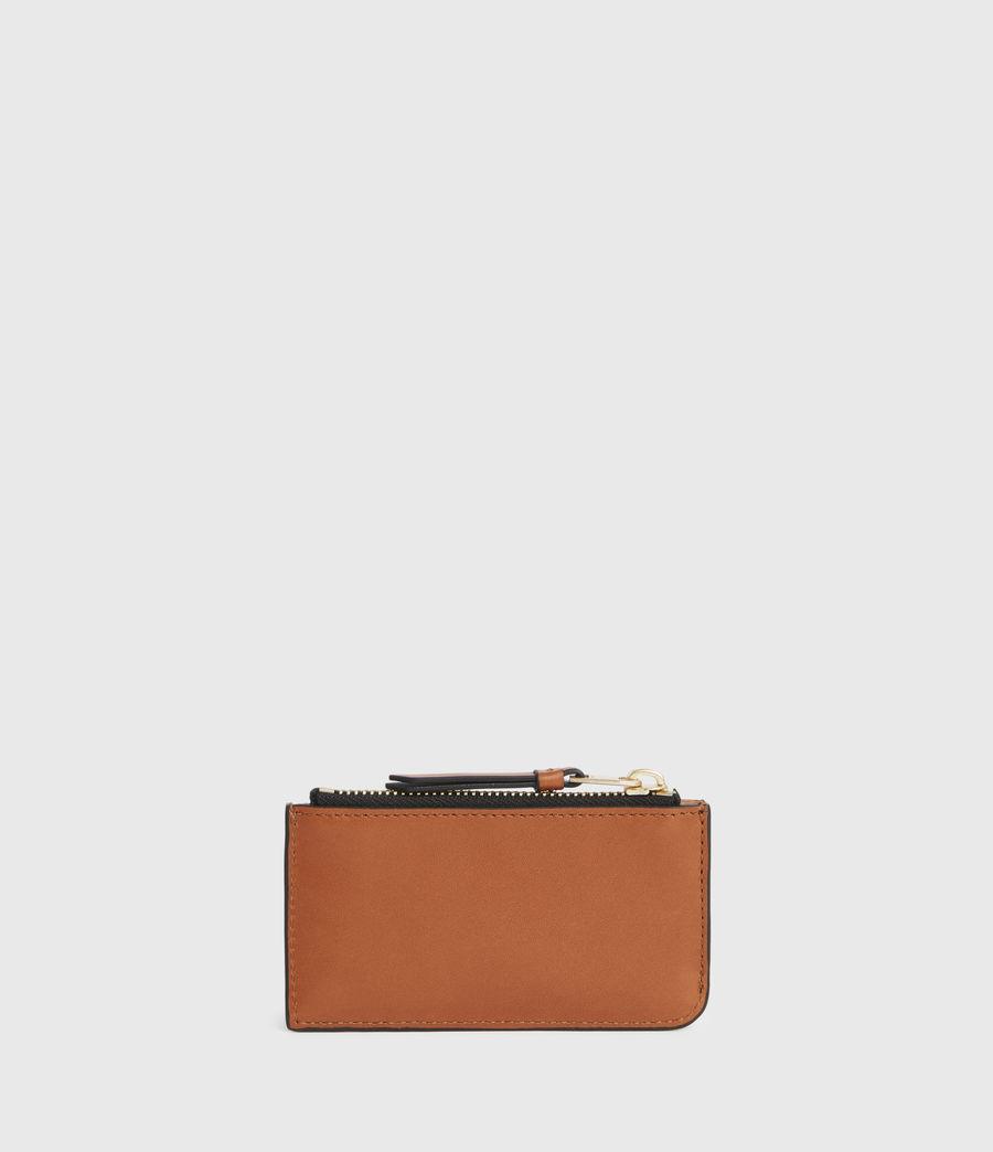 Women's Marlborough Leather Wallet (brandy) - Image 5
