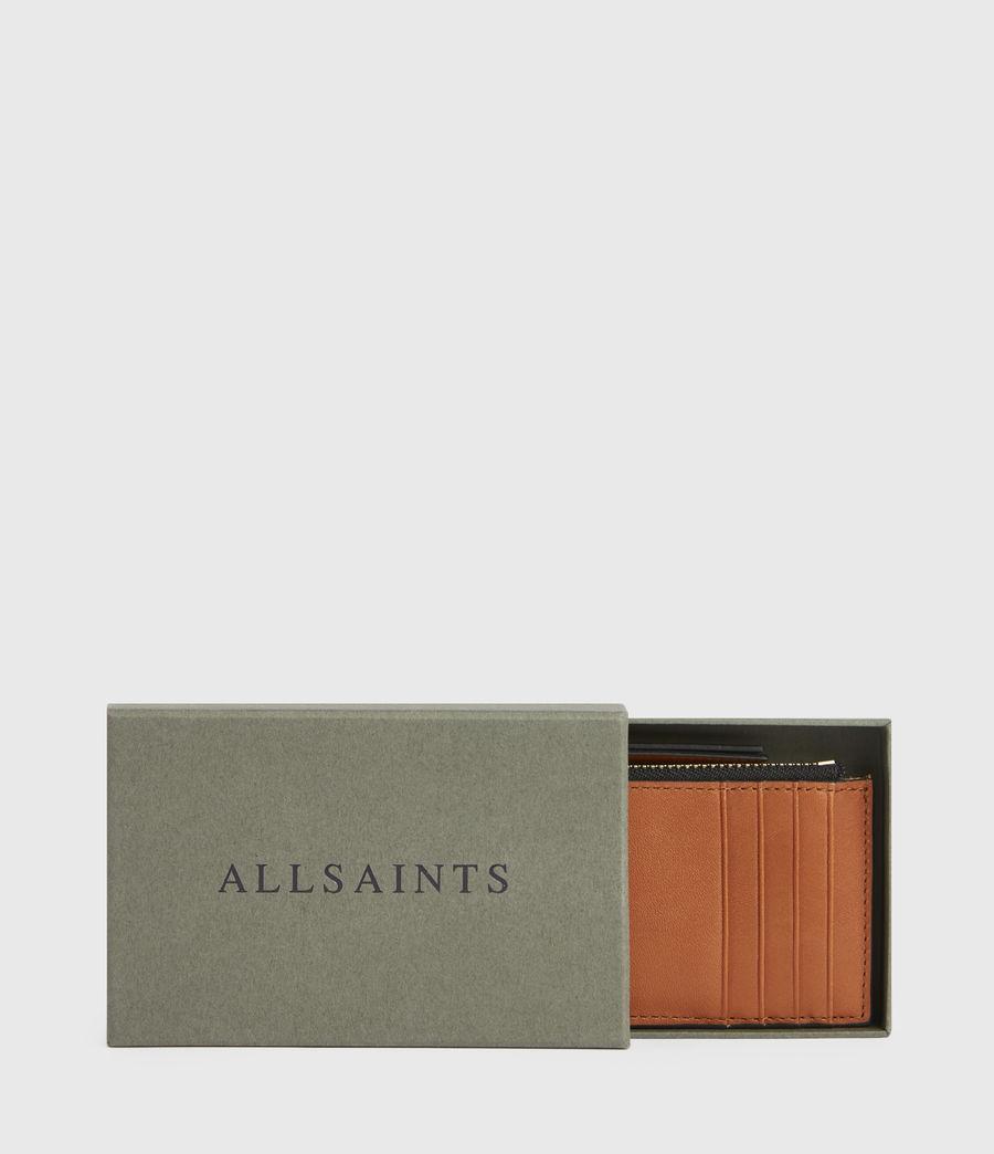 Women's Marlborough Leather Wallet (brandy) - Image 6