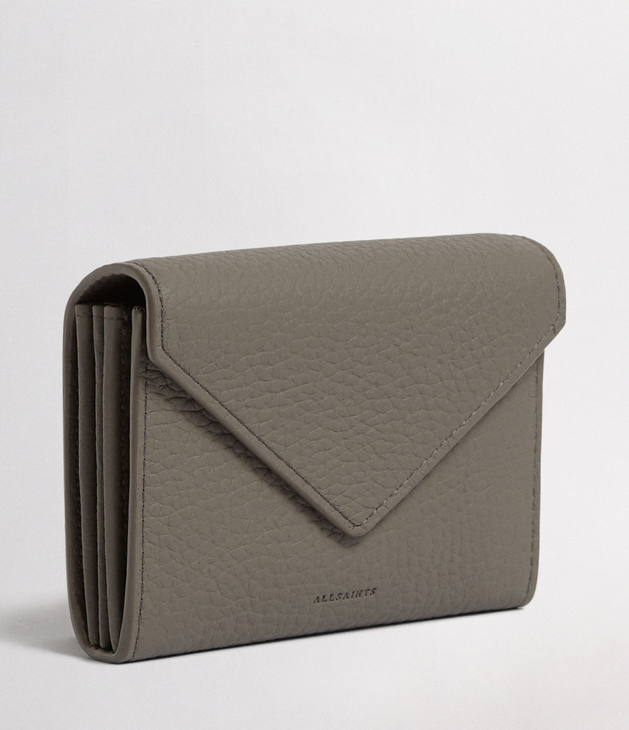 Womens Voltaire Leather Card Holder (storm_grey) - Image 3