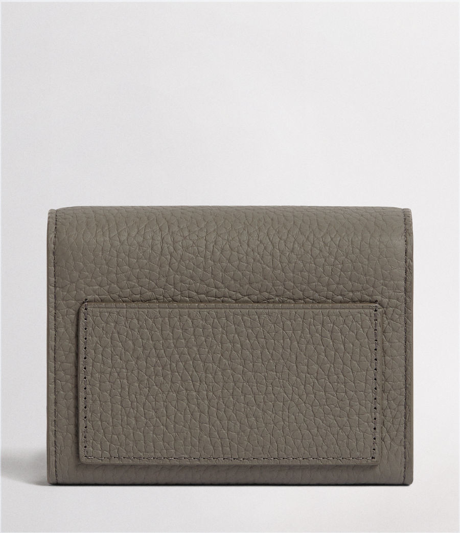 Womens Voltaire Leather Card Holder (storm_grey) - Image 4