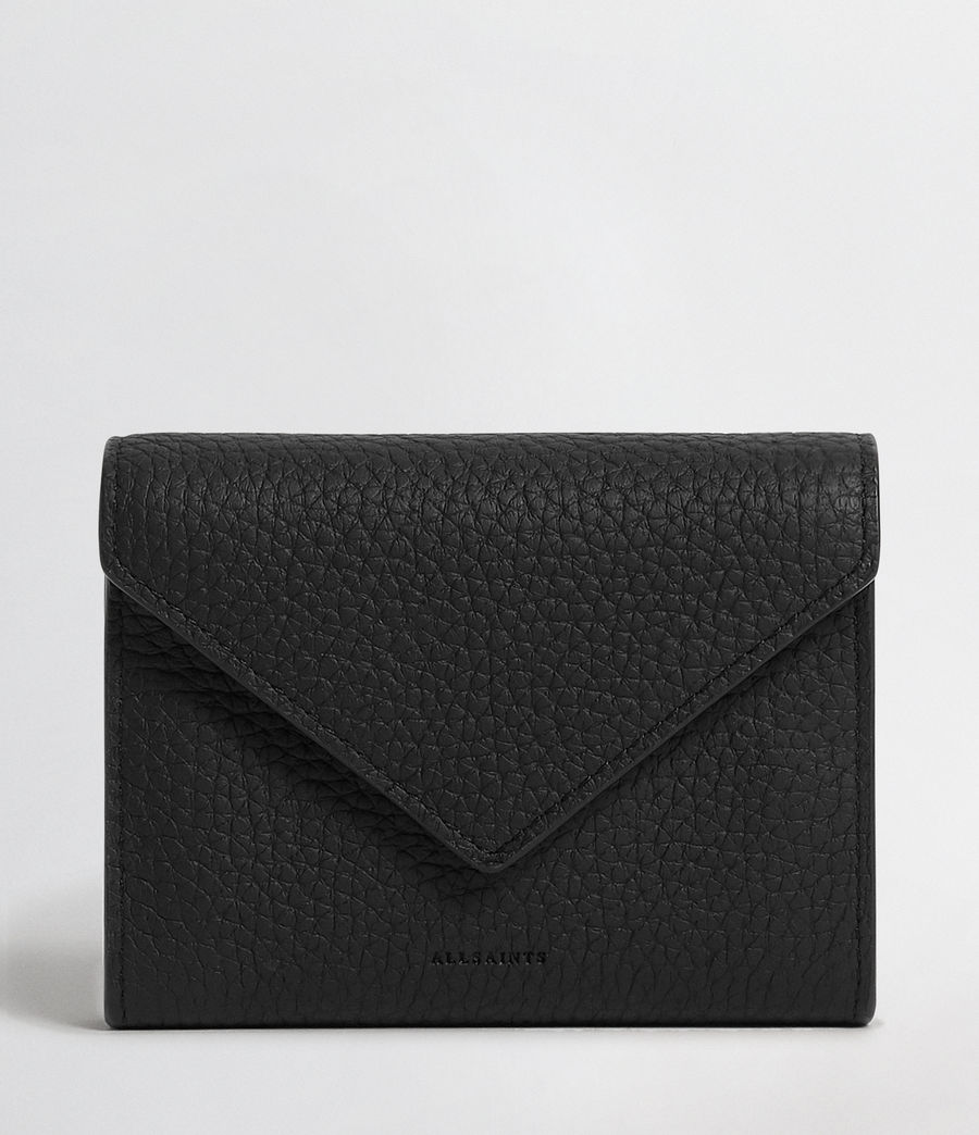 Mujer Voltaire Leather Card Holder (black) - Image 1