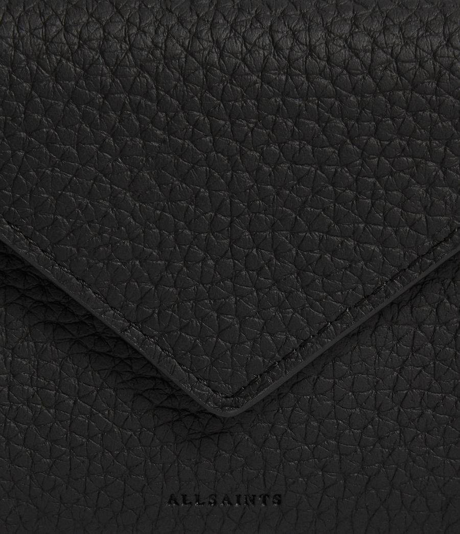 Mujer Voltaire Leather Card Holder (black) - Image 3