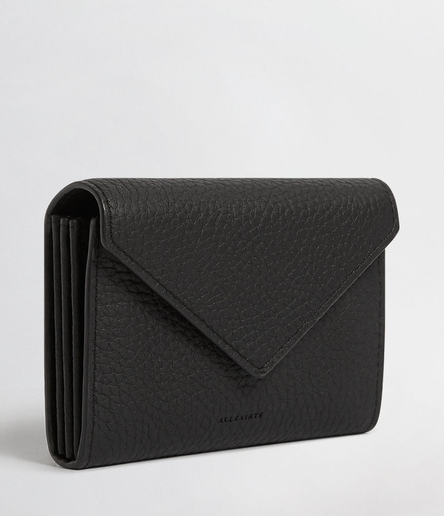 Mujer Voltaire Leather Card Holder (black) - Image 4