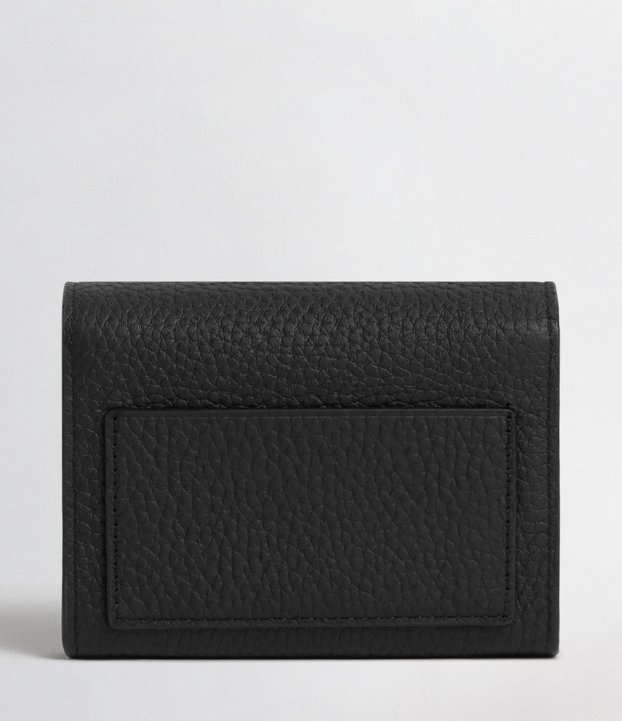 Mujer Voltaire Leather Card Holder (black) - Image 5