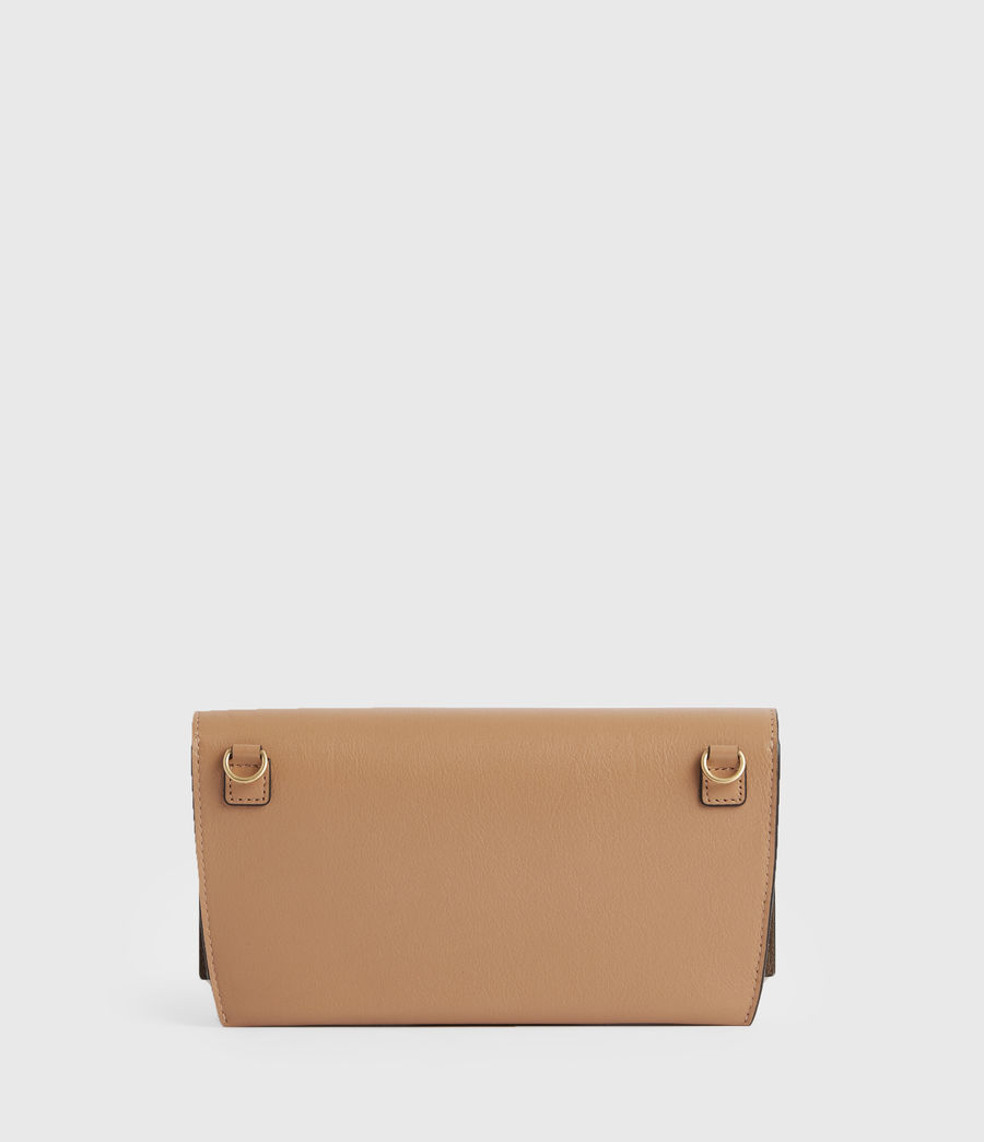 Femmes Albert Leather Wallet (desert_tan) - Image 6