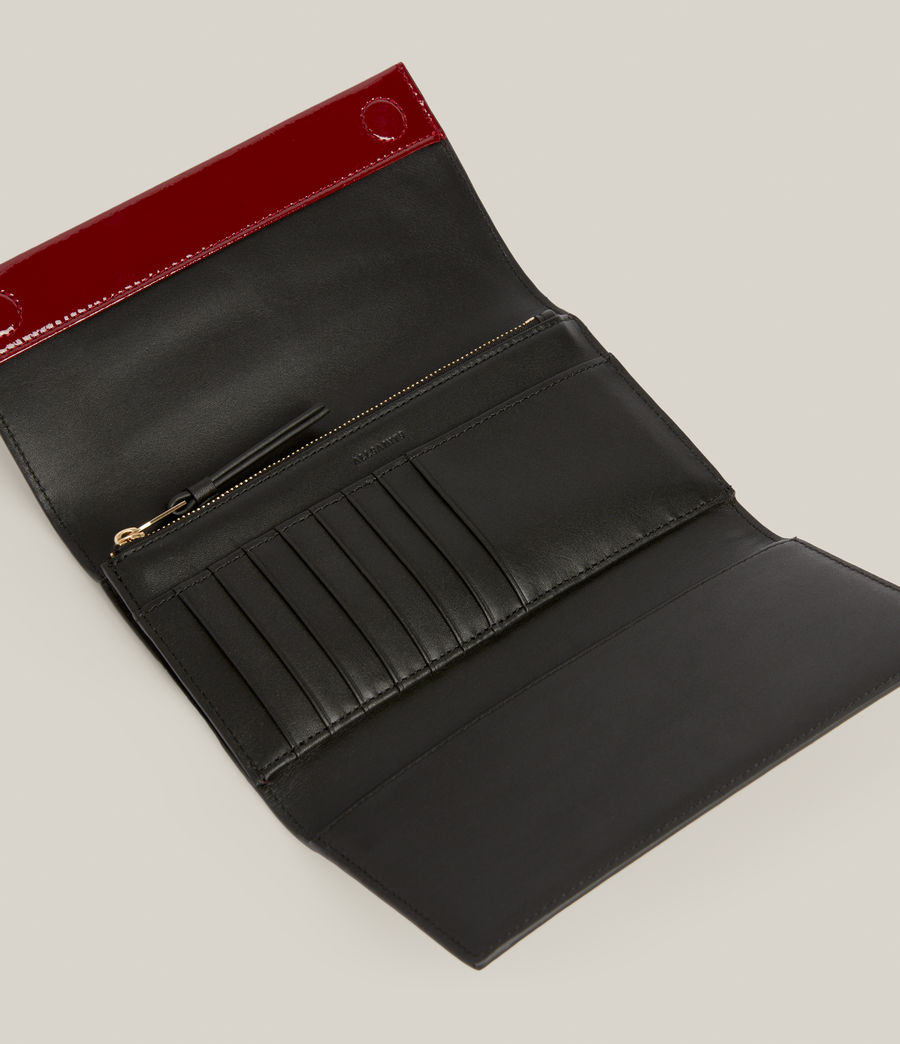 Women's Holland Leather Wallet (liquid_rouge) - Image 2