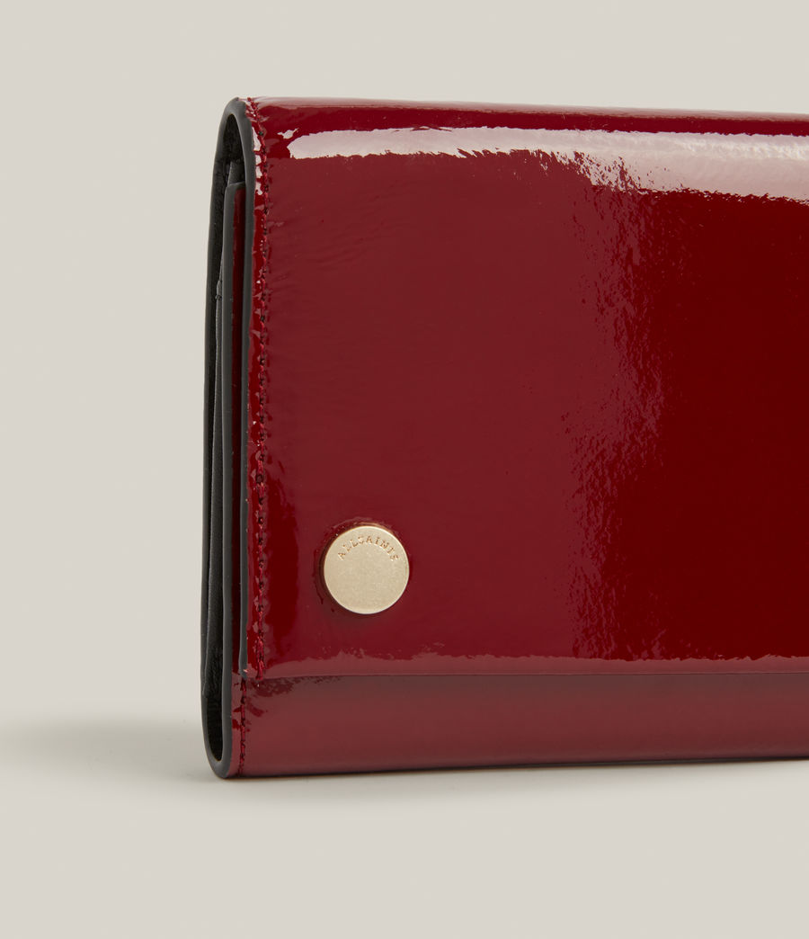 Women's Holland Leather Wallet (liquid_rouge) - Image 4