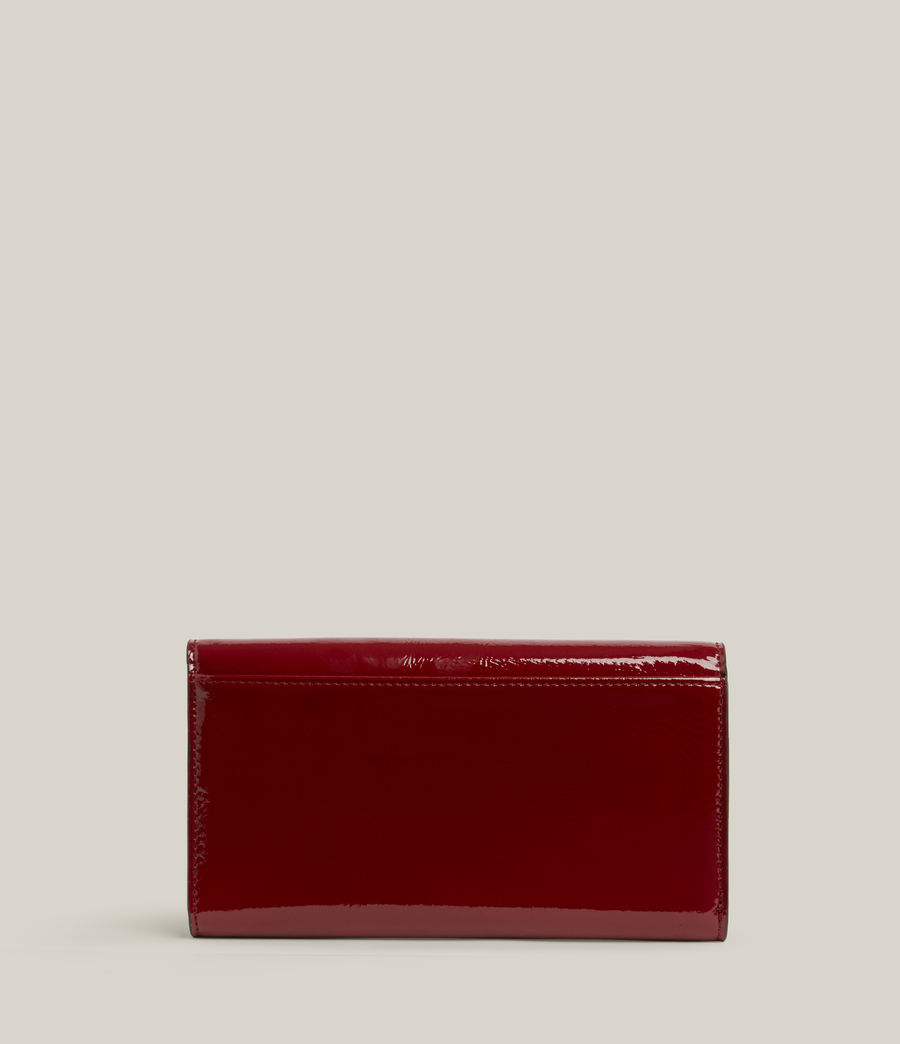 Women's Holland Leather Wallet (liquid_rouge) - Image 5