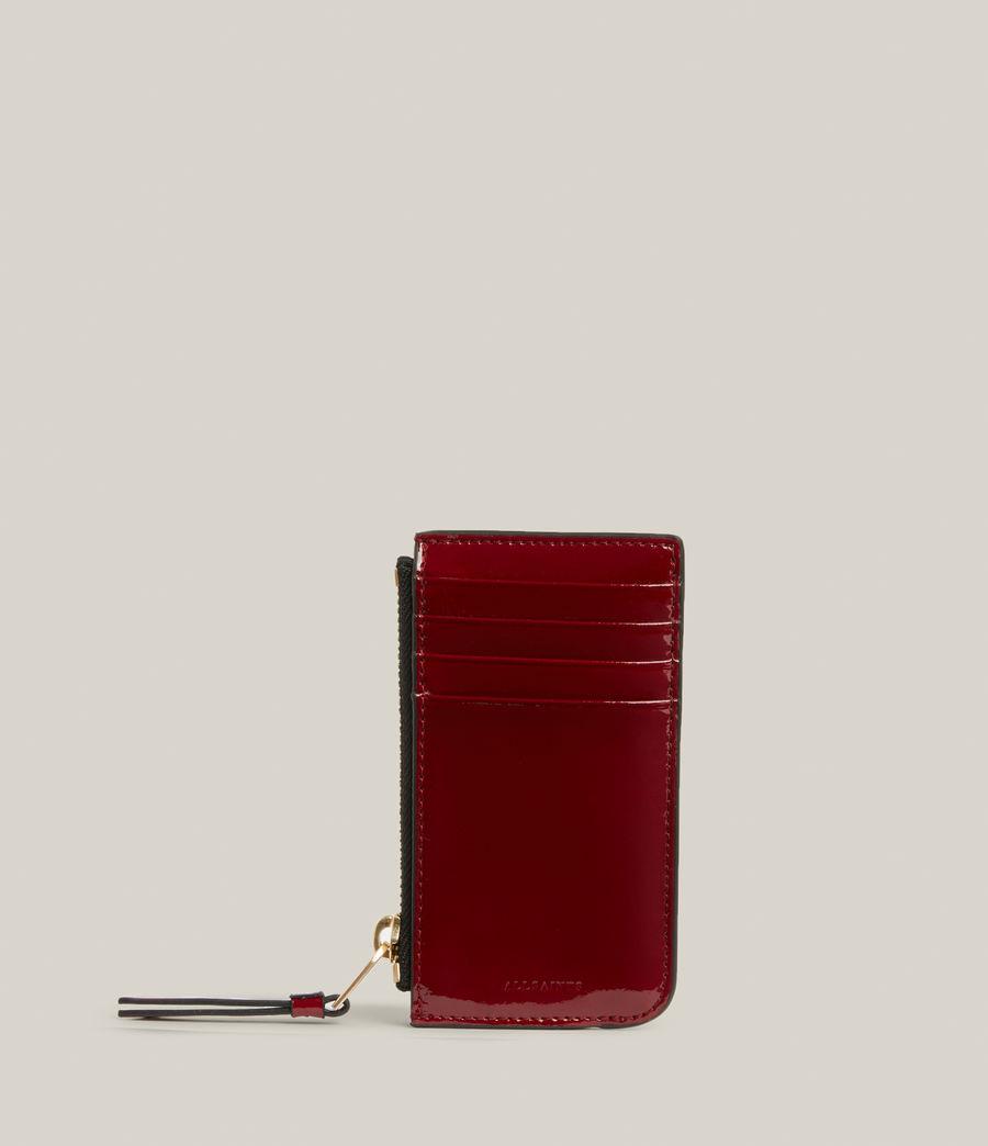 Women's Marlborough Leather Wallet (liquid_rouge) - Image 1