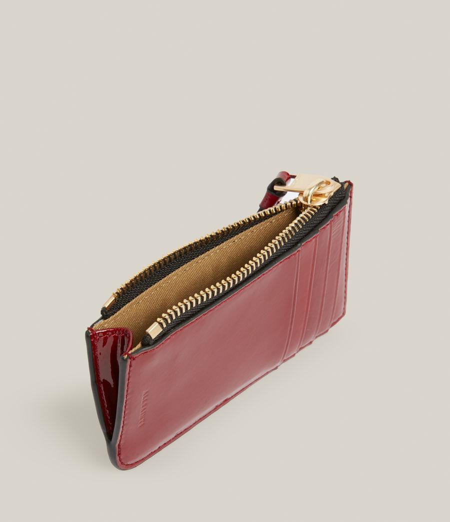Women's Marlborough Leather Wallet (liquid_rouge) - Image 2