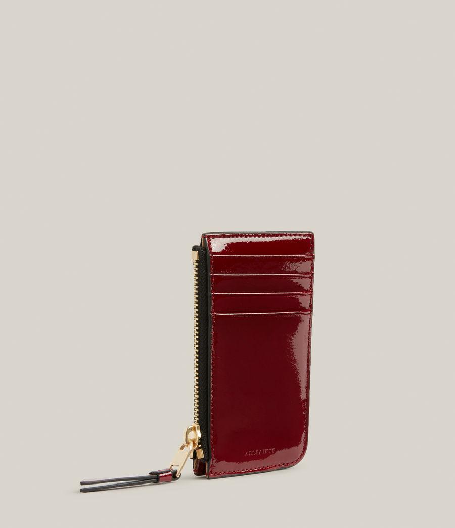 Women's Marlborough Leather Wallet (liquid_rouge) - Image 3