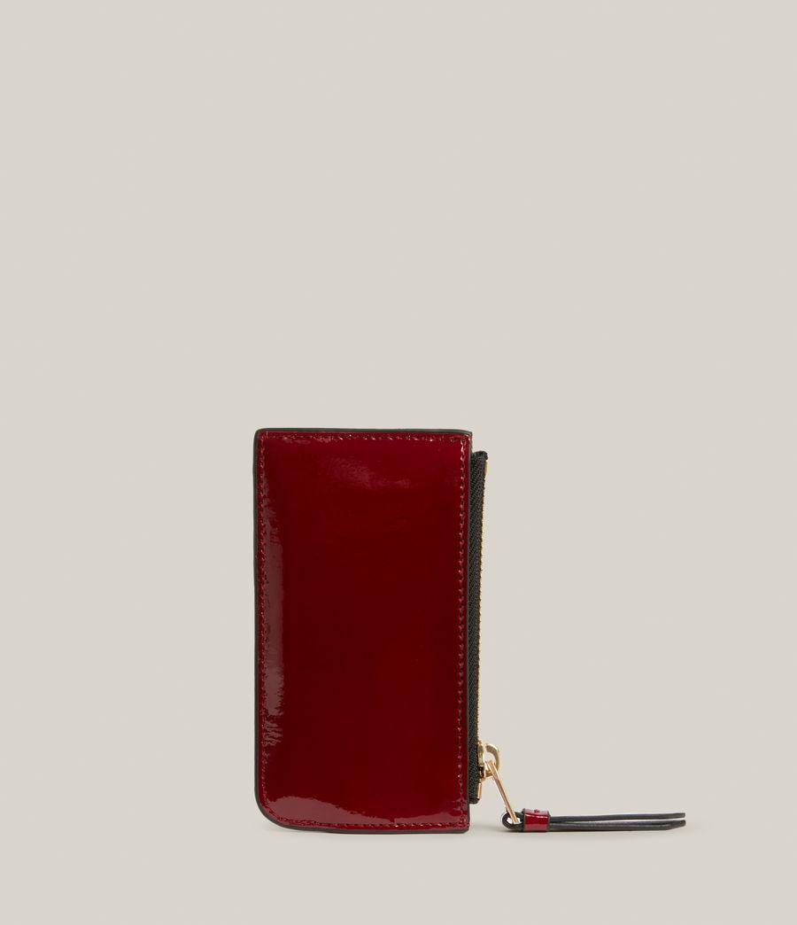 Women's Marlborough Leather Wallet (liquid_rouge) - Image 5