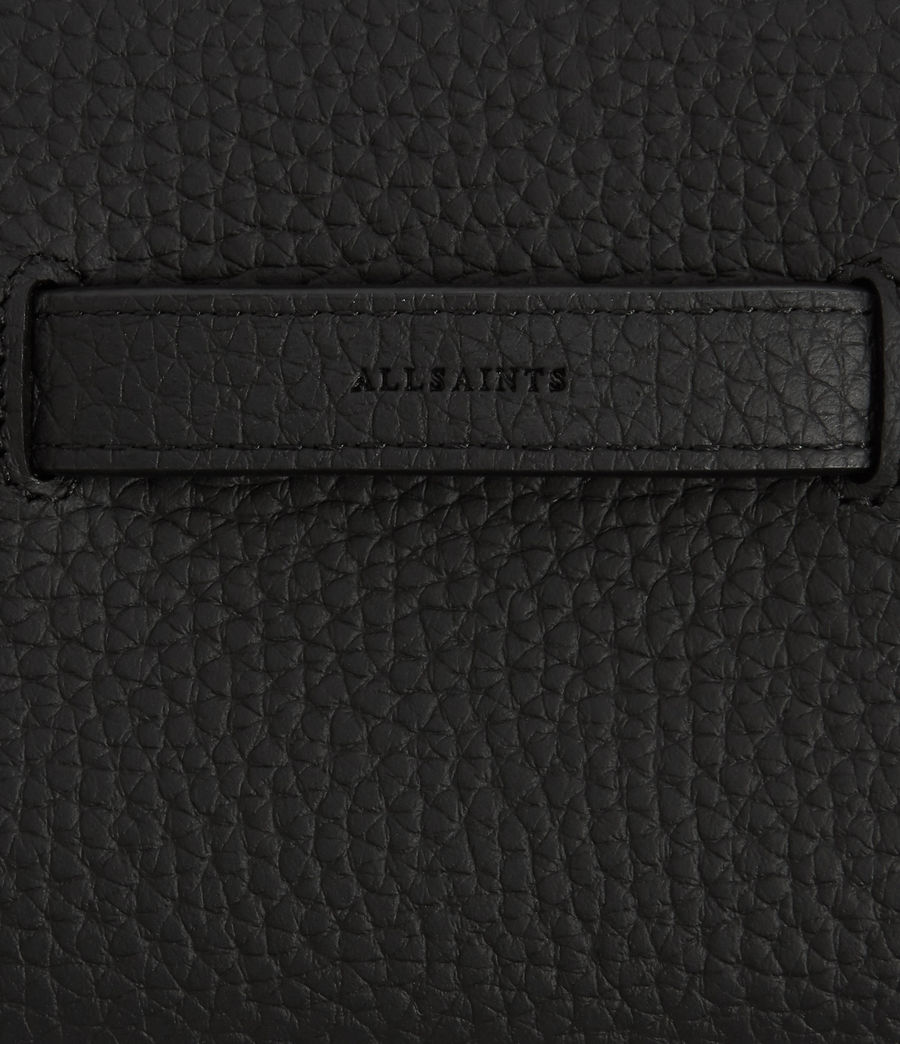 Women's Ray Leather Wallet (black) - Image 5