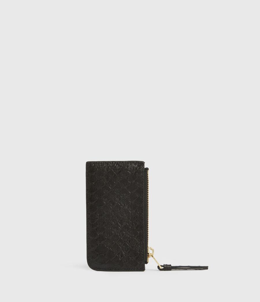 Women's Marlborough Leather Wallet (black_python) - Image 5