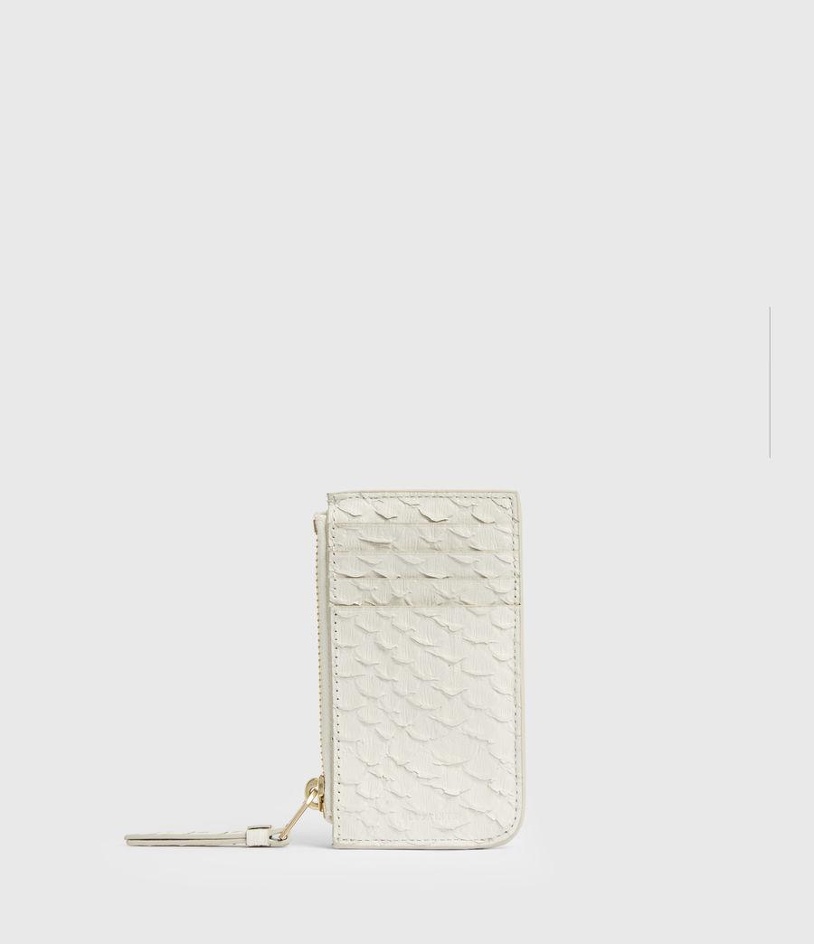 Women's Marlborough Leather Wallet (roe_white) - Image 1