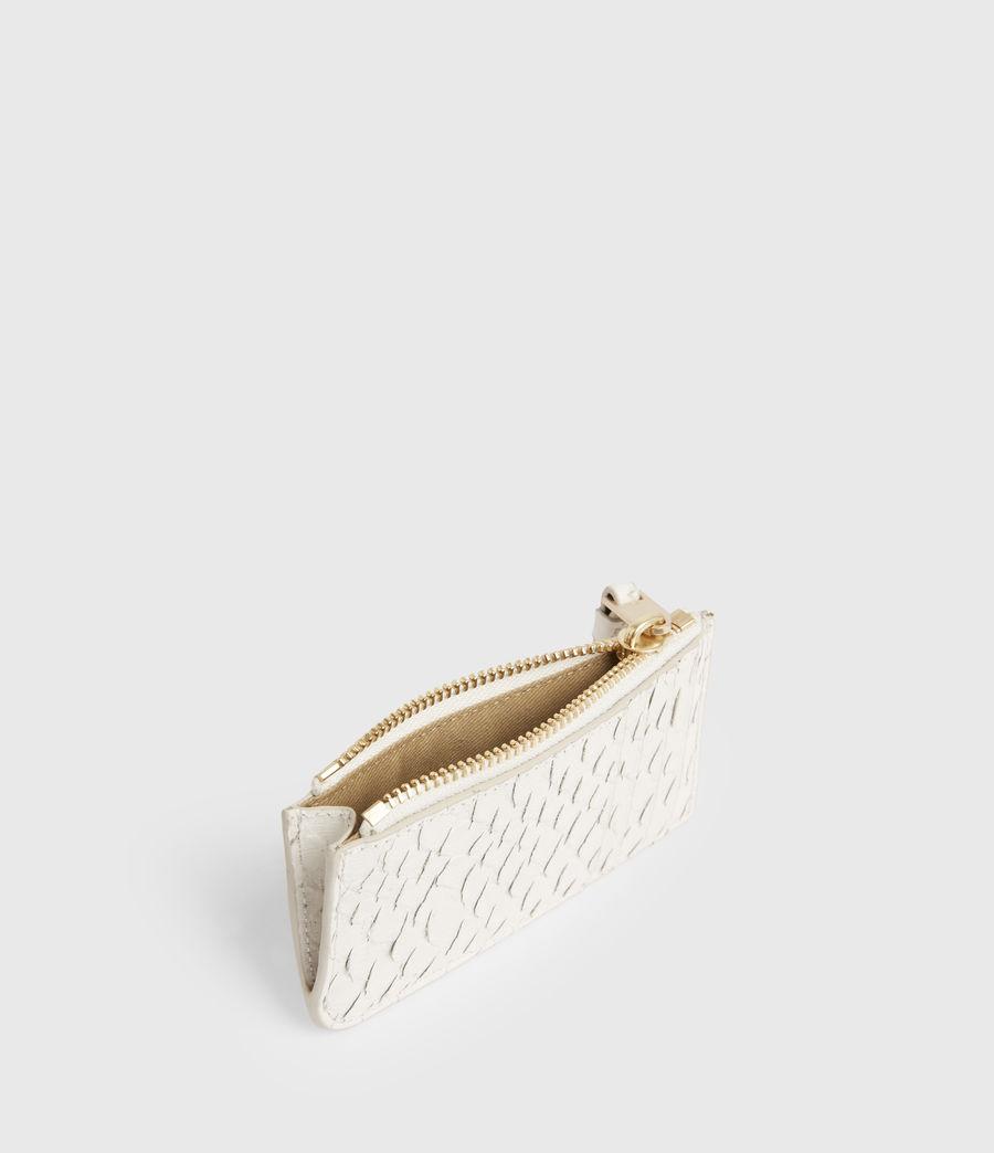 Women's Marlborough Leather Wallet (roe_white) - Image 2