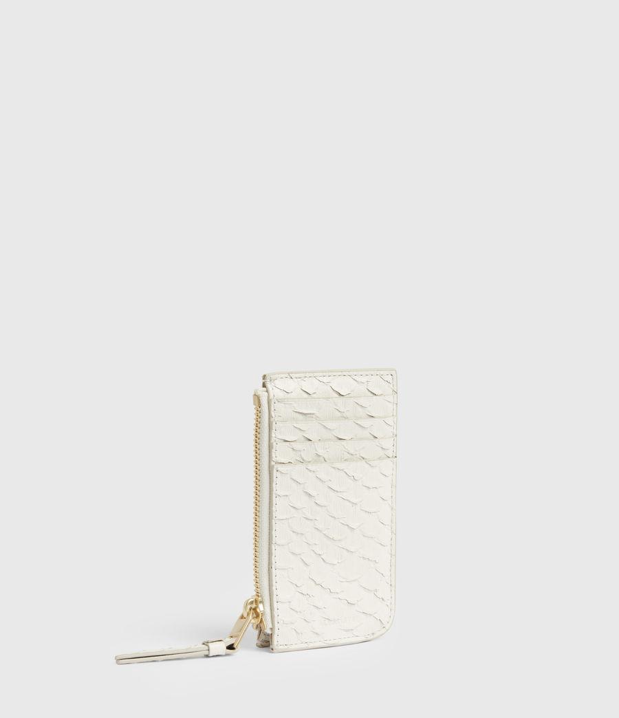 Women's Marlborough Leather Wallet (roe_white) - Image 3