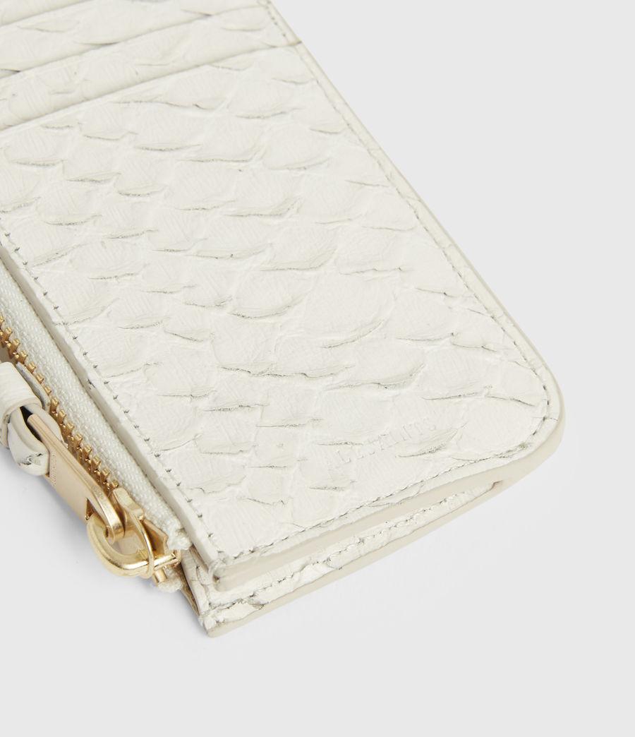 Women's Marlborough Leather Wallet (roe_white) - Image 4