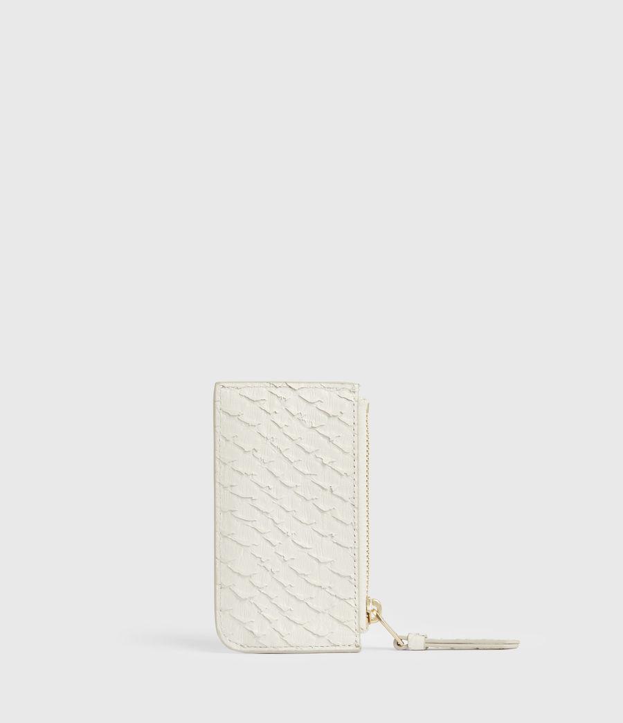 Women's Marlborough Leather Wallet (roe_white) - Image 5
