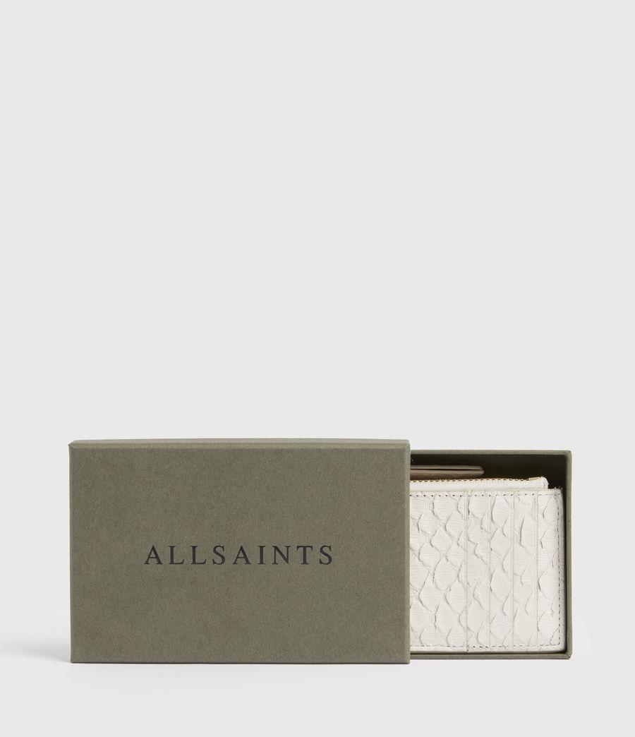 Women's Marlborough Leather Wallet (roe_white) - Image 6