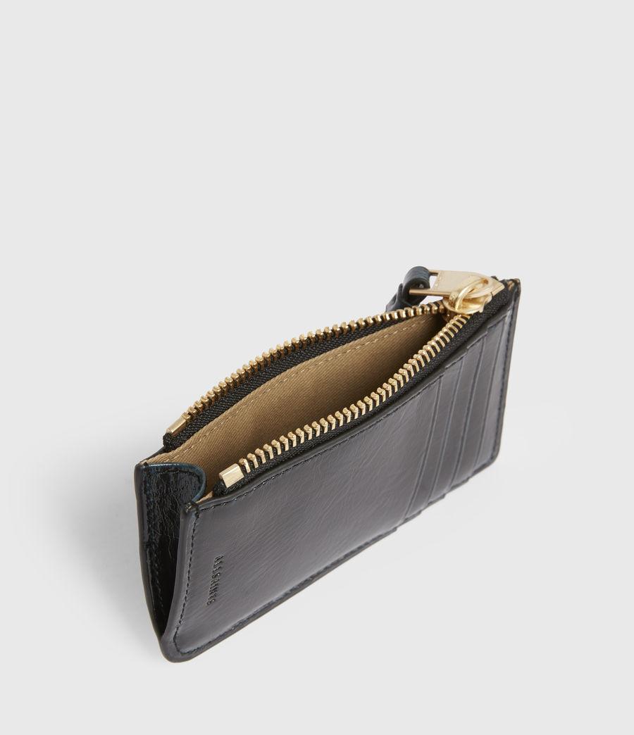 Women's Marlborough Leather Wallet (squid_ink_blue) - Image 2
