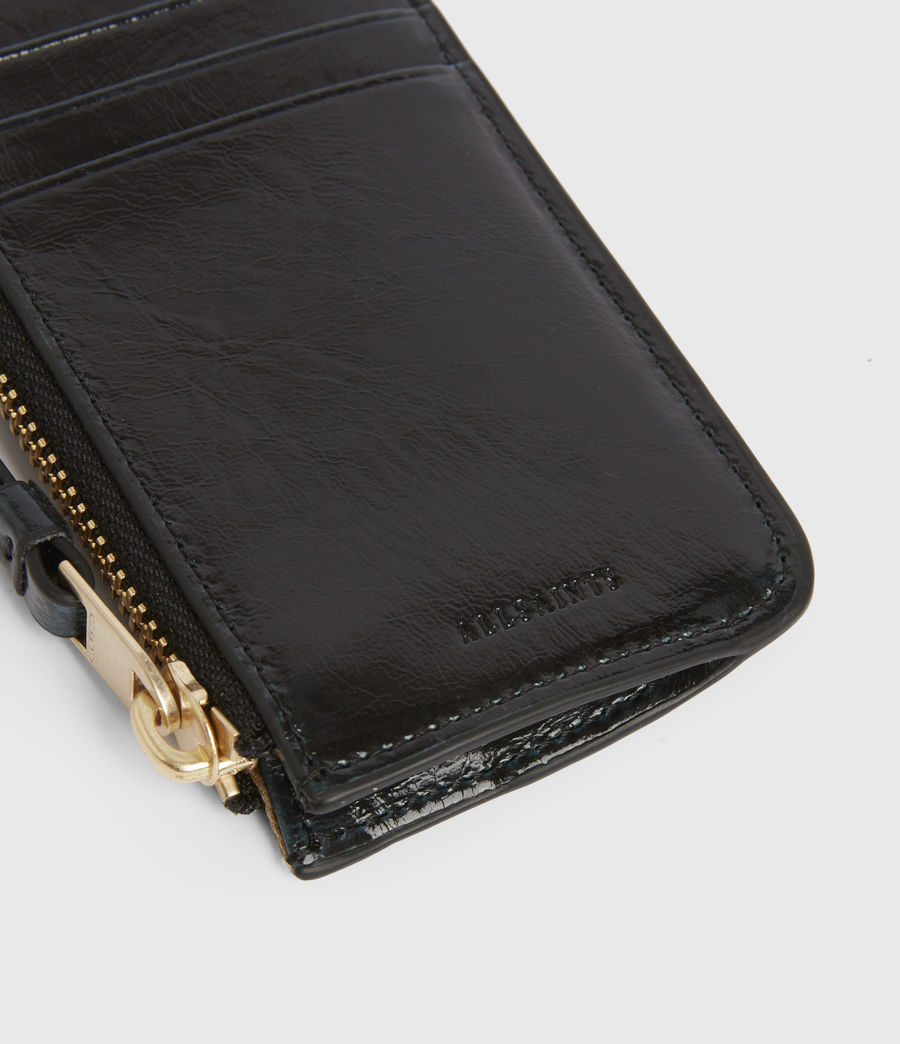 Women's Marlborough Leather Wallet (squid_ink_blue) - Image 4