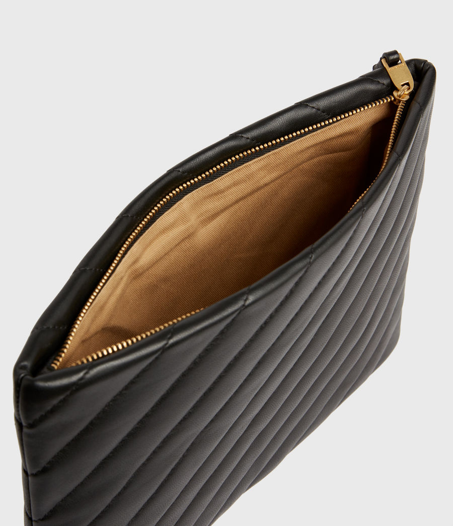 Damen Bettina Clutch (black) - Image 3