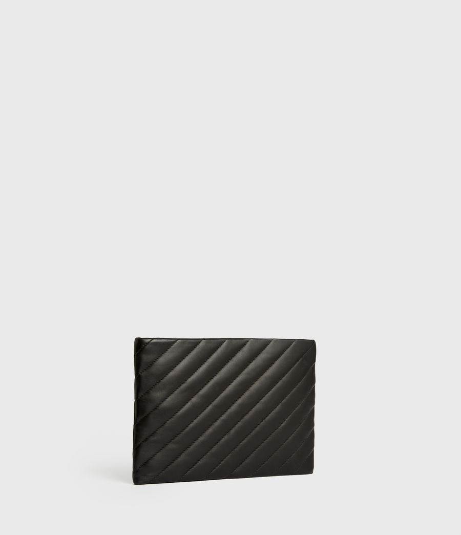 Damen Bettina Clutch (black) - Image 5