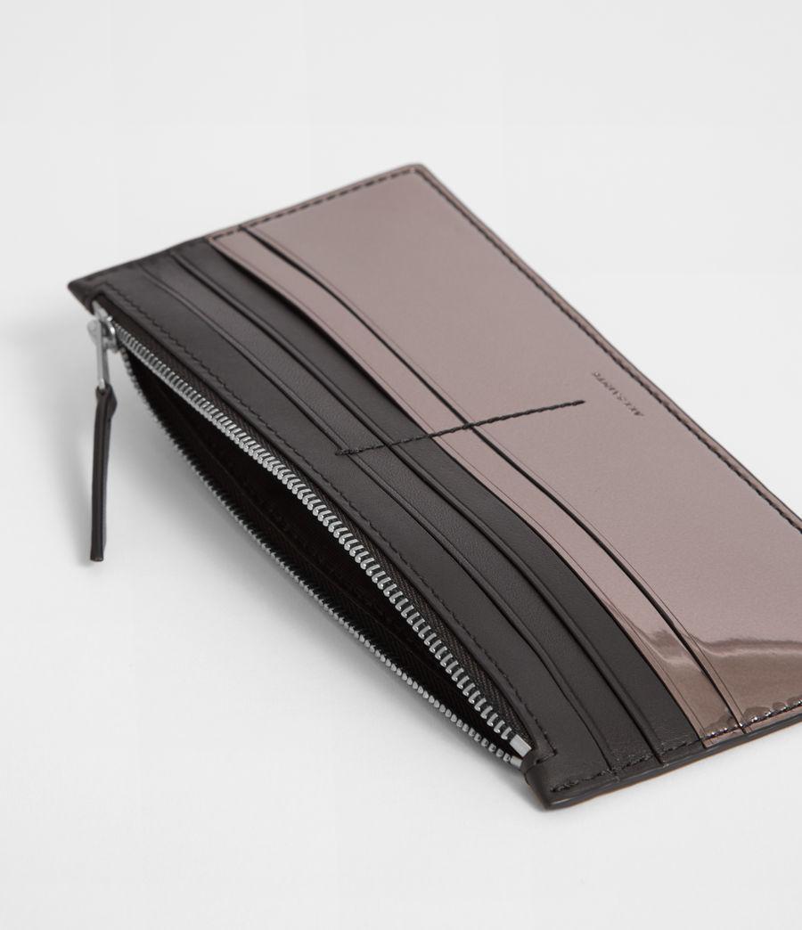 Women's Clip Zip Cardholder (gunmetal_grey) - Image 2