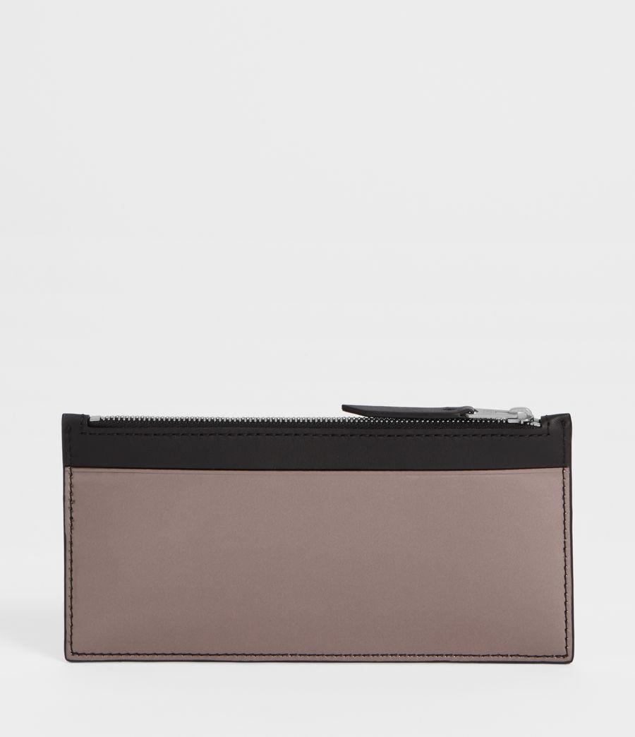 Women's Clip Zip Cardholder (gunmetal_grey) - Image 3