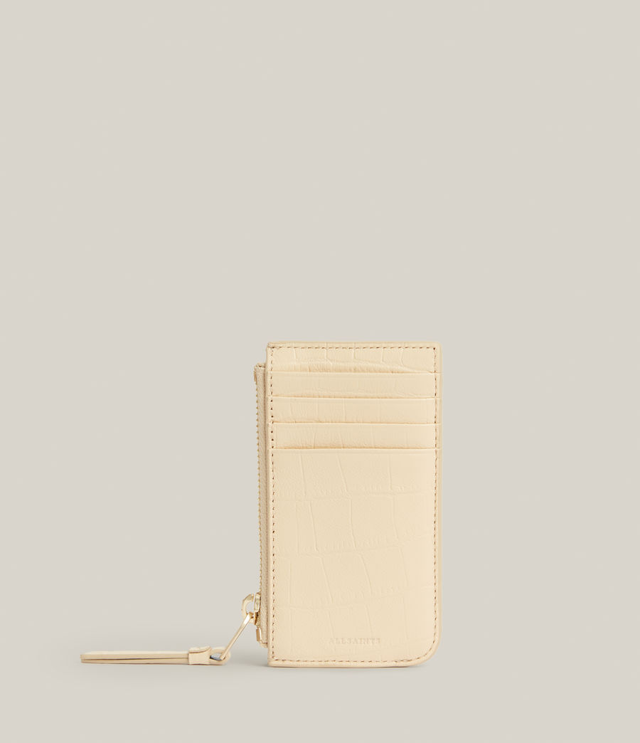 Women's Marlborough Leather Wallet (parchment_white) - Image 1
