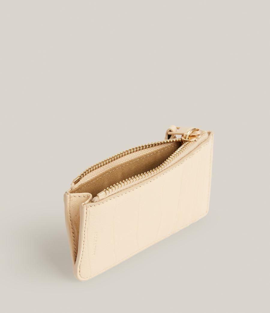 Women's Marlborough Leather Wallet (parchment_white) - Image 2