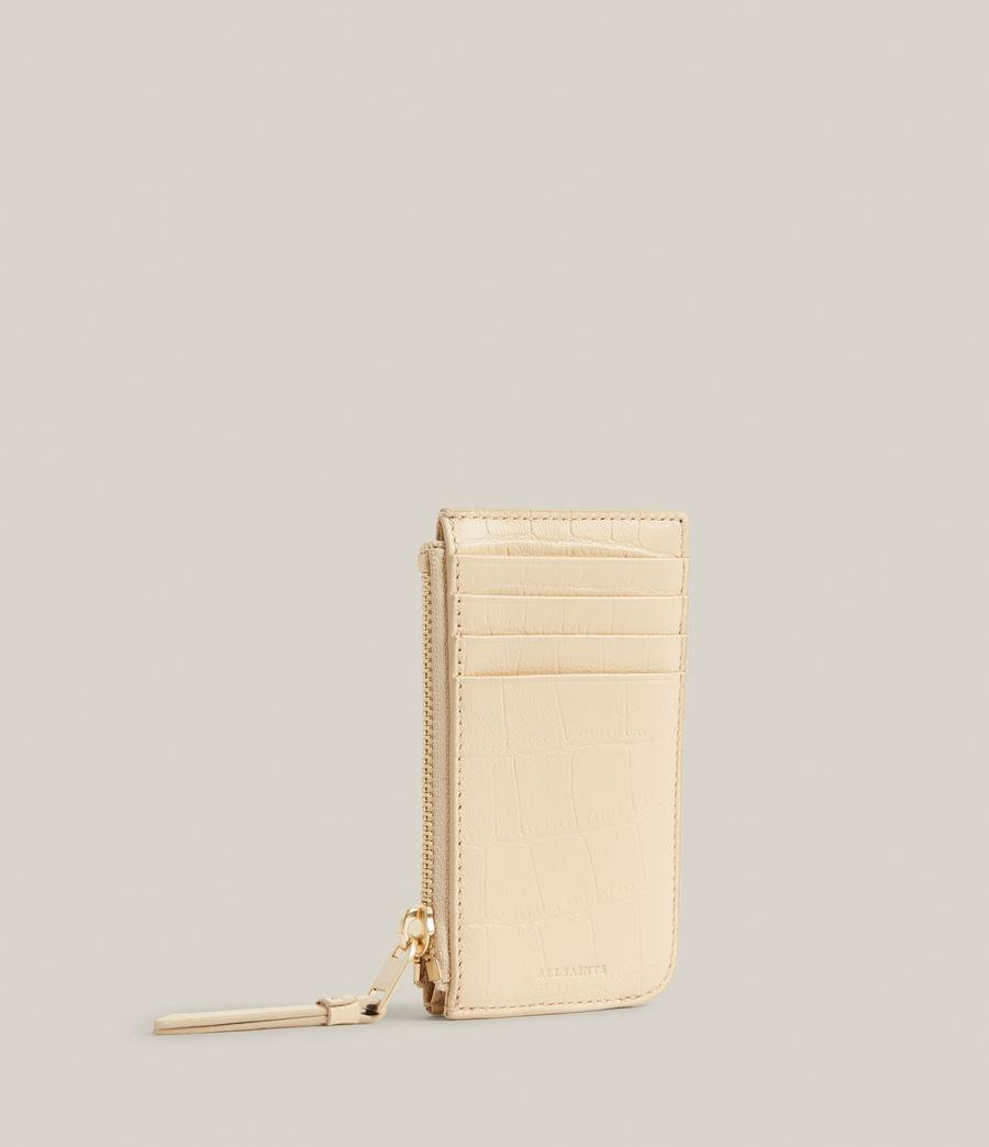 Women's Marlborough Leather Wallet (parchment_white) - Image 3