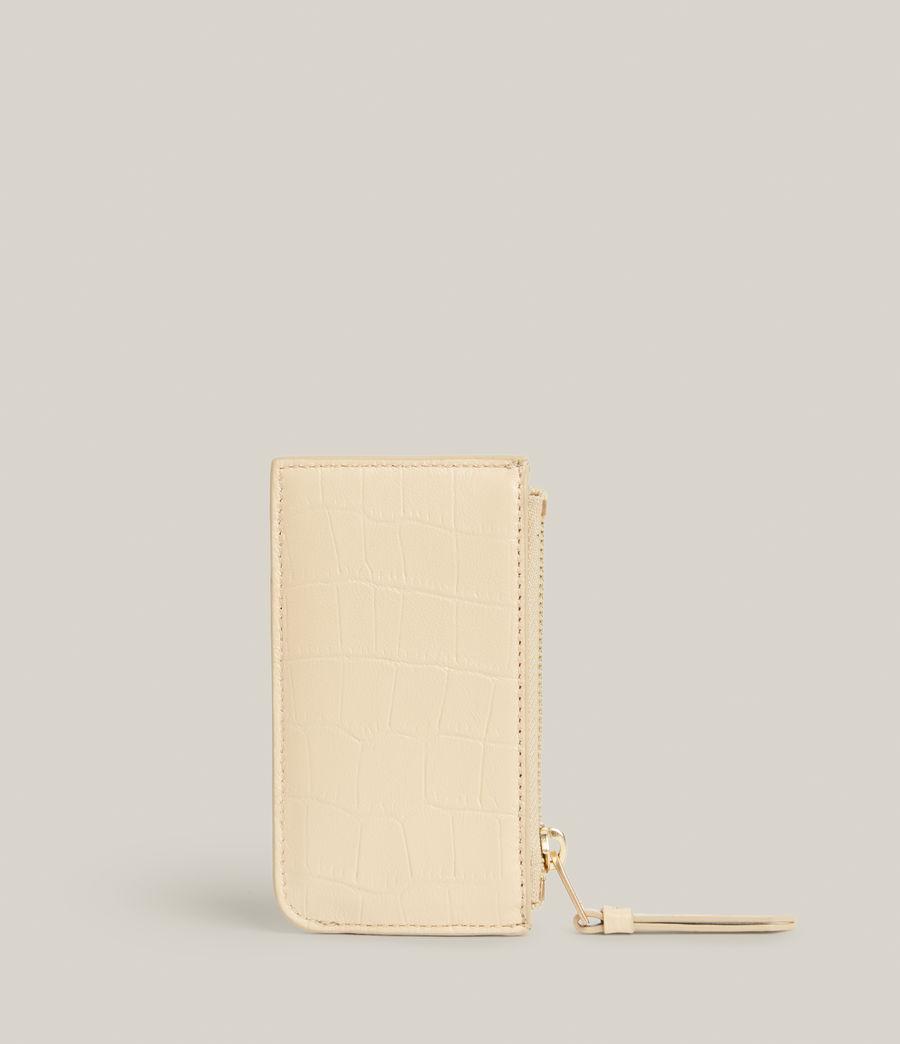 Women's Marlborough Leather Wallet (parchment_white) - Image 5
