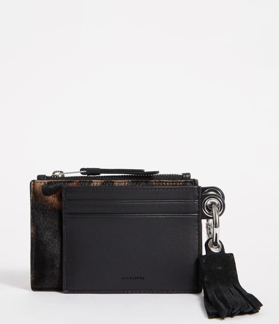 Mujer Dive Leather Keyfob (leopard_black) - Image 1