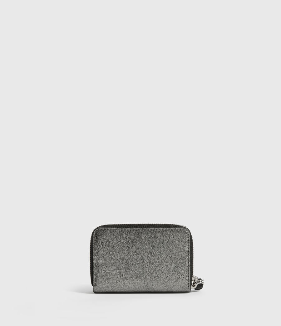 Womens Miki Lea Leather Cardholder (gunsmoke_grey) - Image 5