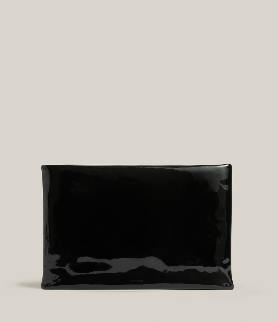 Femmes Pochette en Cuir Bettina (liquid_black) - Image 2