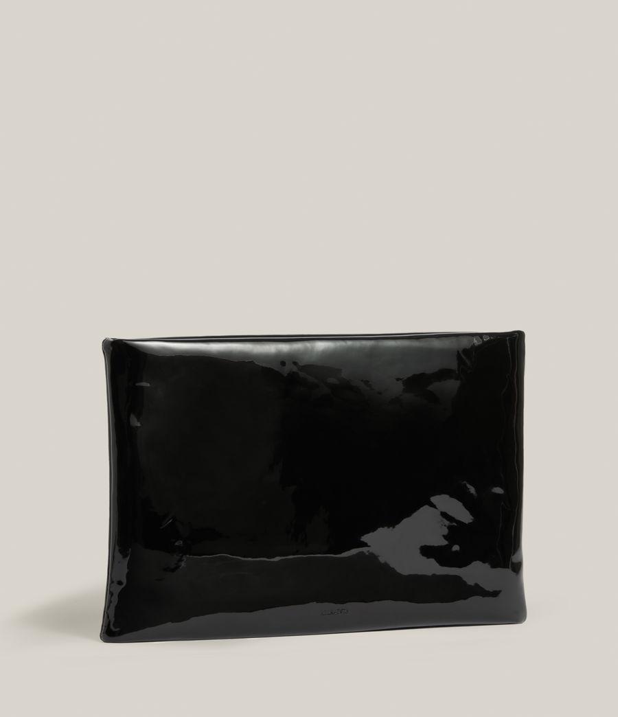 Femmes Pochette en Cuir Bettina (liquid_black) - Image 4